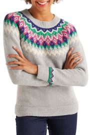 boden Emma Fair Isle Sweater at Nordstrom Rack