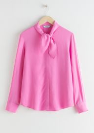 bow blouse at & Other Stories