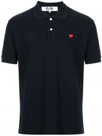 branded short-sleeved polo shirt at Farfetch