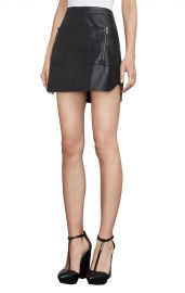bxbgmaxazria Sabina Faux-Leather Miniskirt at Bcbg