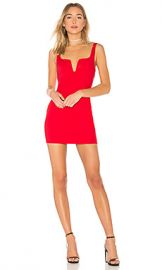 by the way  Cici Square Neck Mini Dress in Red from Revolve com at Revolve