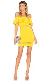 by the way  Emilie Tiered Knit Dress in Yellow from Revolve com at Revolve