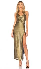 by the way  Jessa Maxi Dress in Gold from Revolve com at Revolve