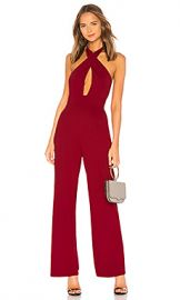 by the way  Riri Cross Front Jumpsuit in Burgundy from Revolve com at Revolve