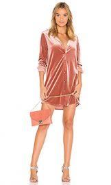 by the way  Vella Velvet Mini Dress in Blush from Revolve com at Revolve