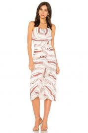 c meo collective on her own midi dress at Revolve
