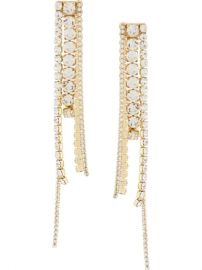 chandelier earrings at Farfetch