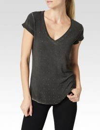 charlie mini studs tee at Paige