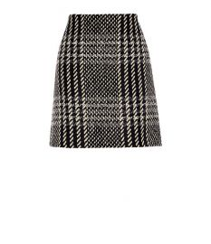 checked mini skirt at Karen Millen