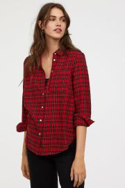 checked shirt at H&M