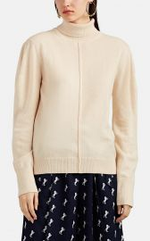 chloe Cashmere Puff-Sleeve Turtleneck Sweater at Barneys