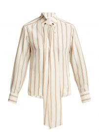chloe striped blouse at Matches