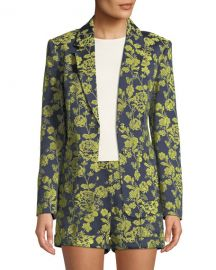 cinq a sept Janae Structured Floral Jacket at Neiman Marcus
