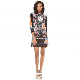 clover canyon Cuba Scarf Shift Dress at Shopbop