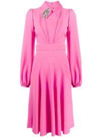 collared dress at Farfetch