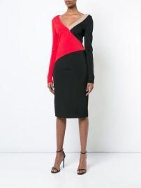 colourblocked dress at Farfetch
