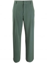 concealed front trousers at Farfetch