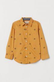 cotton shirt at H&M