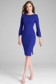 crepe dress at Teri jon