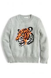 crewcuts by J Crew Tiger Cotton Sweater  Toddler Boys  Little Boys  amp  Big Boys    Nordstrom at Nordstrom