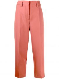 cropped trousers at Farfetch
