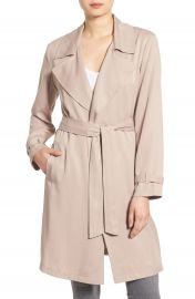 cupcakes and cashmere  Adams  Drape Trench Coat at Nordstrom