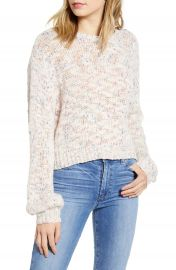 cupcakes and cashmere Arnhem Speckle Sweater   Nordstrom at Nordstrom