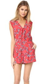 cupcakes and cashmere Fitz Cherry Blossoms Romper at Shopbop
