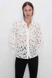 daisy shirt at Zara