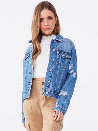 denim jacket at Forever 21