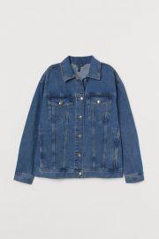 denim jacket at H&M
