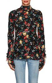 derek lam Floral-Print Silk Blouse at Barneys
