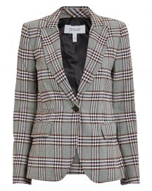 derek lam plaid blazer at Intermix