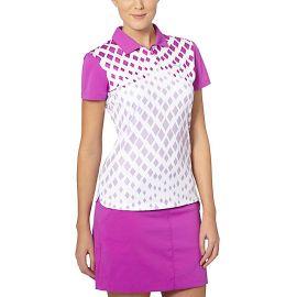 diamond graphic golf polo shirt at Puma
