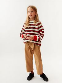 double striped sweater at Zara