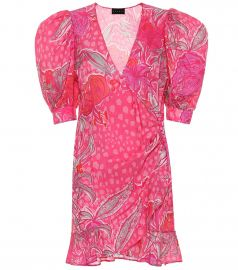 dundas Jacquard silk-blend minidress at My Theresa