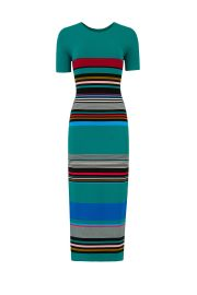dvf striped sweater dress at Rent The Runway