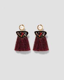 earrings at Zara