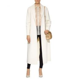 elie Tahari Amy Longline Coat at Harrods