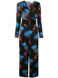 floral print jumpsuit at Farfetch