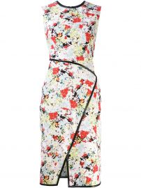 floral kimono dress erdem at Farfetch