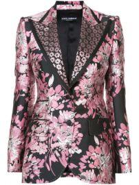 floral lurex jacquard jacket at Farfetch