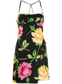 floral mini dress at Farfetch