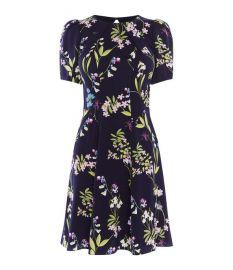 floral print dress at Karen Millen