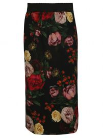 floral skirt dolce gabbana at Italist