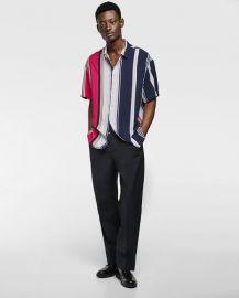 flowy striped shirt at Zara