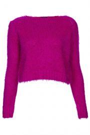 fluffy knit jumper at Topshop