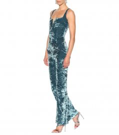 galvan SOLSTICE VELVET JUMPSUIT at My Theresa