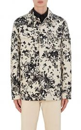 givenchy Hydrangea-Print Cotton Shirt Jacket at Barneys