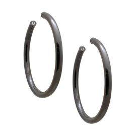gunmetal hoop at Uncommon James